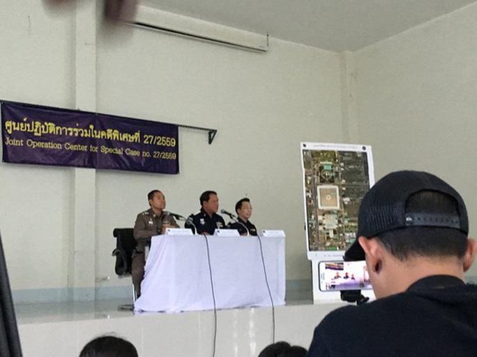 Cảnh sát Thái Lan cho biết vẫn chưa tìm thấy trụ trì Phra Dhammachayo. Ảnh: Twitter