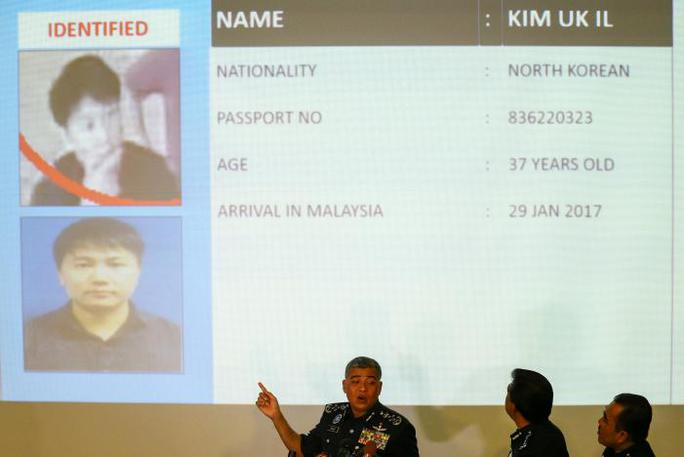 Nghi phạm Kim Uk-il. Ảnh: Reuters