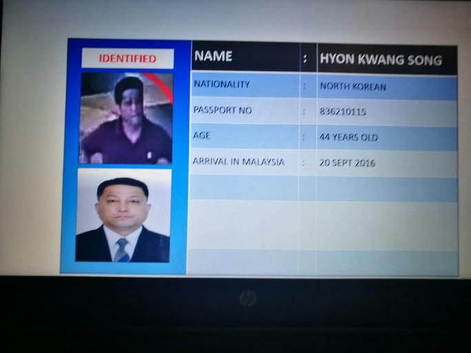 Nghi phạm Hyon Kwang Song. Ảnh: Straits Times