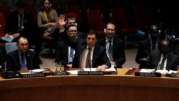 Nga phủ quyết nghị quyết trừng phạt Syria. Ảnh: Reuters