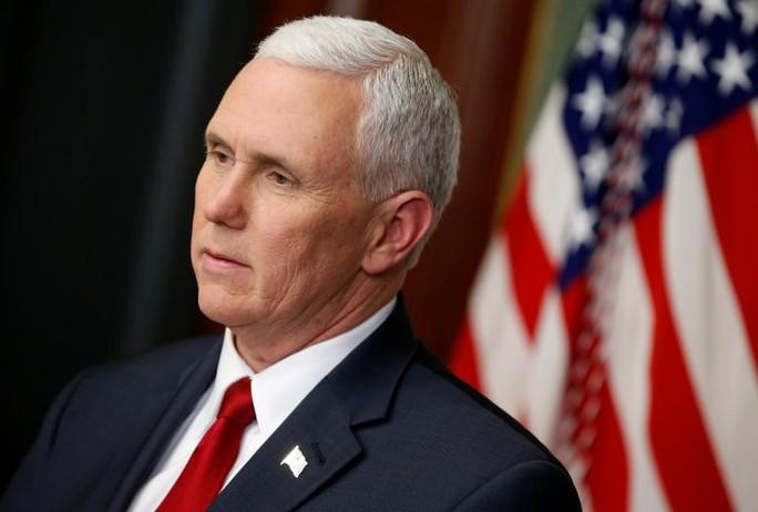 Phó Tổng thống Mỹ Mike Pence. Ảnh: Reuters