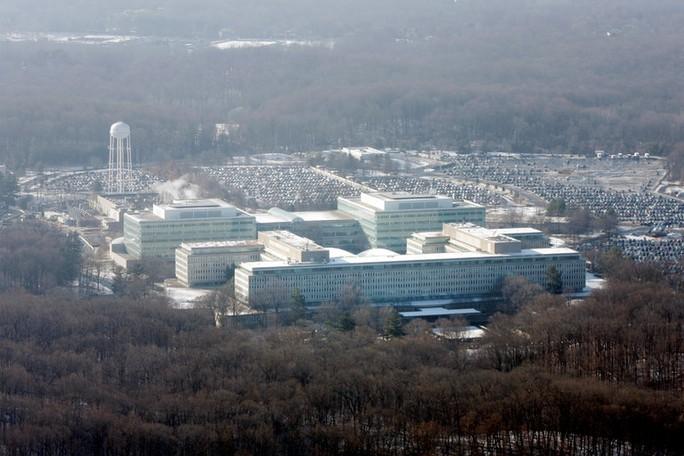 Trụ sở CIA ở Langley, Virginia.Ảnh: New York Times