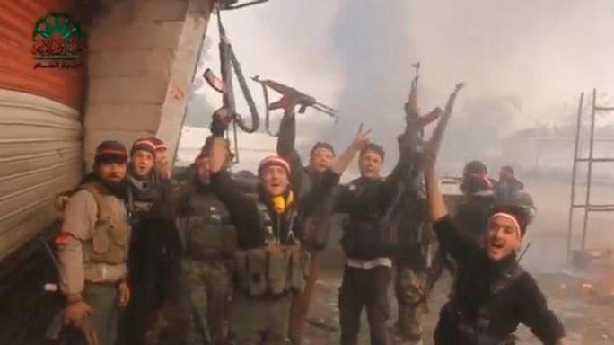 Quân nổi dậy Syria trong vòng 3 ngày đã thực hiện 2 cuộc tấn công vào thủ đô Damascus. Ảnh: Reuters