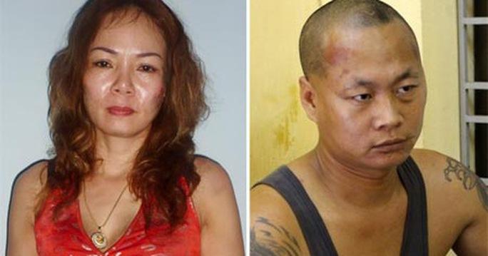 Nguyễn Thị Thu và lái xe kiêm phi công trẻ Vũ Đình Trường.