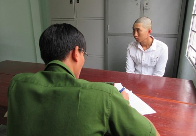 Nguyễn Quốc Duy tại cơ quan điều tra