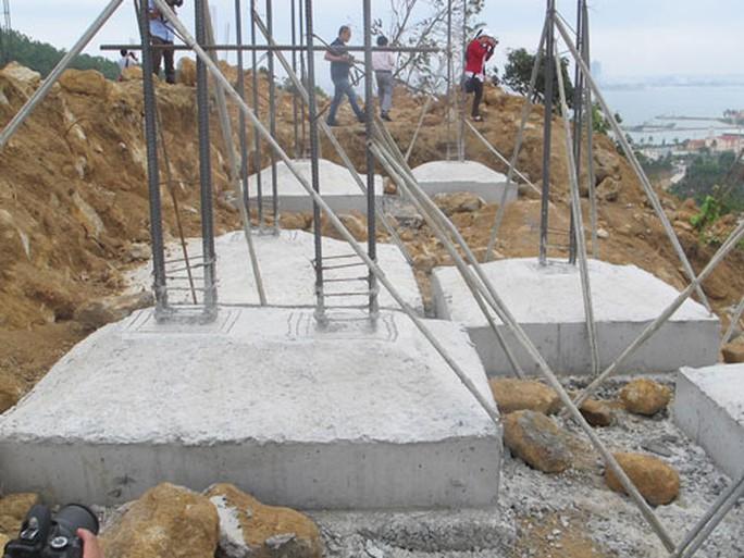 Công trình của Công ty CP Biển Tiên Sa trên bán đảo Sơn Trà - Ảnh: Bích Vân