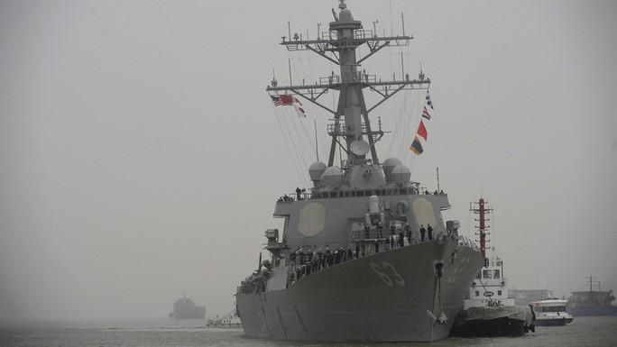 Tàu khu trục USS Stethem của Mỹ. Ảnh: Reuters