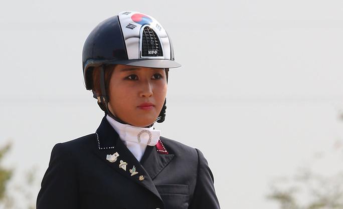 Chung Yoo-ra, con gái của bà Choi Soon-sil Ảnh: KOREA TIMES