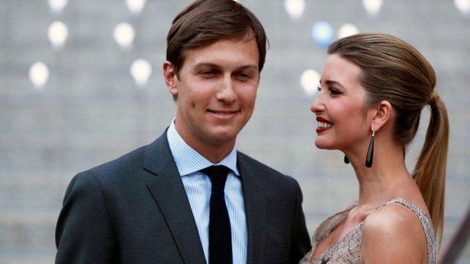 Jared Kushner, con rể Tổng thống đắc cử Donnald Trump, và vợ là Ivanka Trump Ảnh: REUTERS