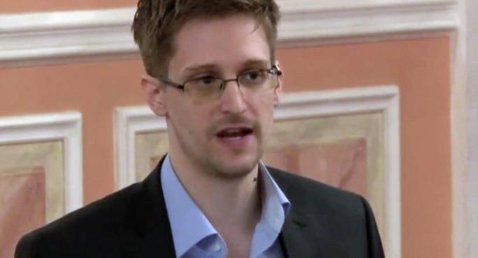 Cựu nhân viên Cơ quan An ninh quốc gia Mỹ (NSA) Edward Snowden. Ảnh: AP