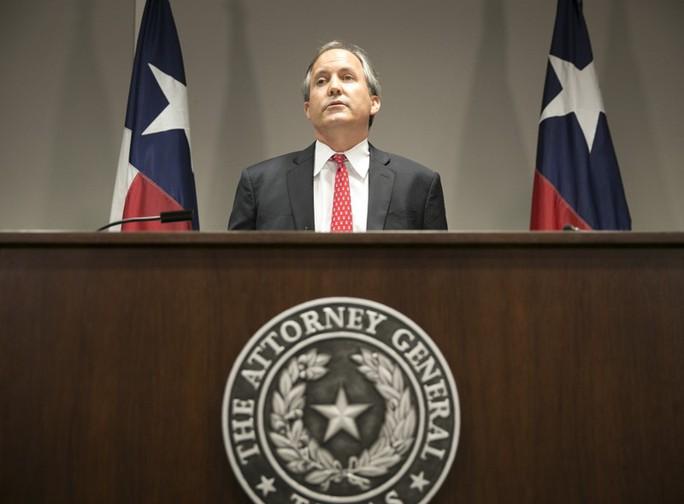 Tổng chưởng lý bang Texas Ken Paxton. Ảnh: American Statesman