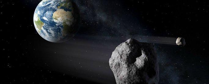 Hình ảnh mô phỏng về các vật thể gần Trái đất. Ảnh: NASA