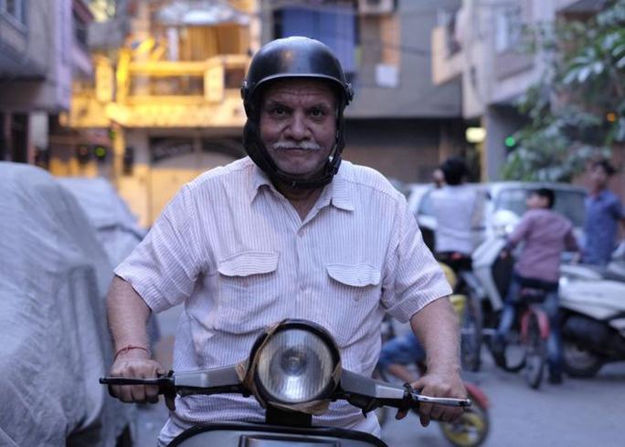 Người đàn ông giờ vàng Suraj Prakash Vaid. Ảnh: BBC