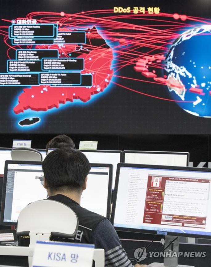 Triều Tiên bất ngờ nói về vụ mã độc tống tiền - Ảnh 1.