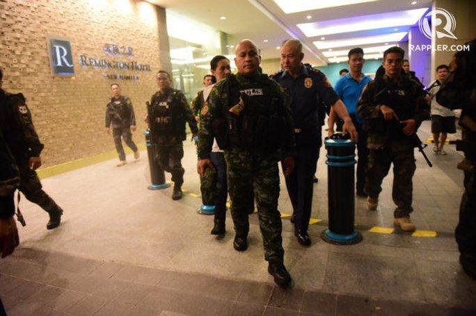 Philippines: Nổ súng tại sòng bạc, nhiều người bị thương - Ảnh 1.