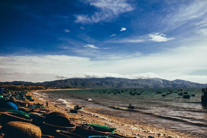 Sướng mắt với biển, đá và cua ở cù Lao Câu - Ảnh 1.