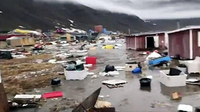 Động đất, sóng thần bất thường càn quét Greenland - Ảnh 1.