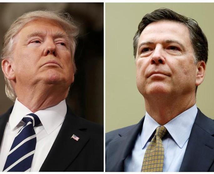 TT Donald Trump lên tiếng về nghi án ghi âm cuộc gặp ông Comey - Ảnh 1.