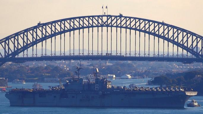 Mỹ-Úc tập trận lớn chưa từng thấy, gởi thông điệp tới Trung Quốc - Ảnh 1.