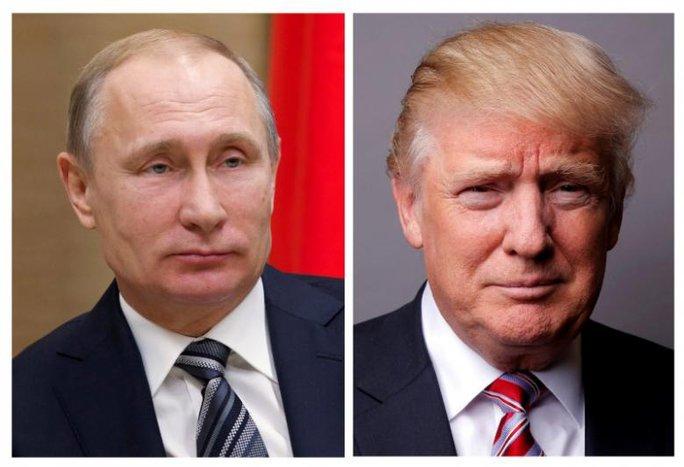 Tổng thống Donald Trump sắp gặp ông Putin lần đầu tiên - Ảnh 1.