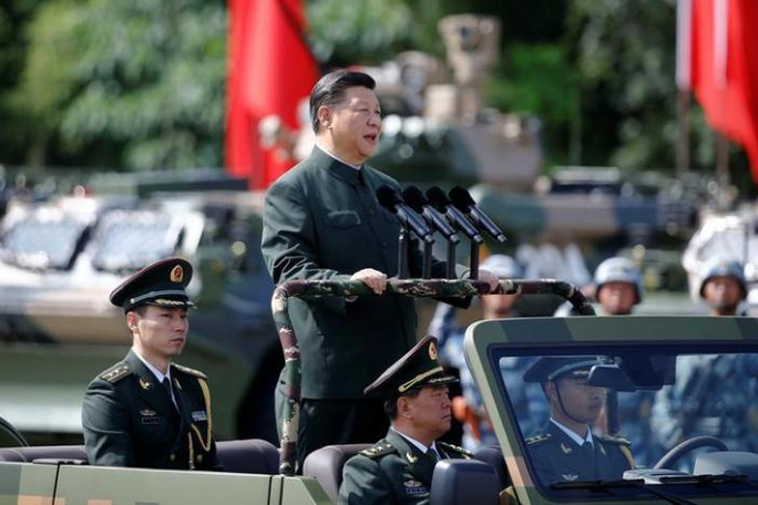 Duyệt binh lớn chưa từng có ở Hồng Kông trong 20 năm - Ảnh 1.