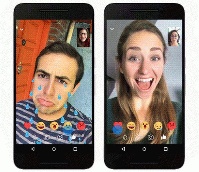 Facebook Messenger bổ sung thêm nhiều hiệu ứng vui nhộn cho Video Chat - Ảnh 2.