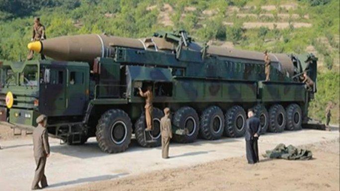 Mỹ thừa nhận Triều Tiên thử thành công ICBM đầu tiên - Ảnh 1.