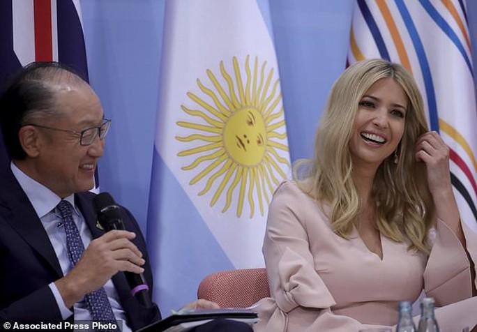 Ivanka Trump thế chỗ cha ở G20 - Ảnh 2.
