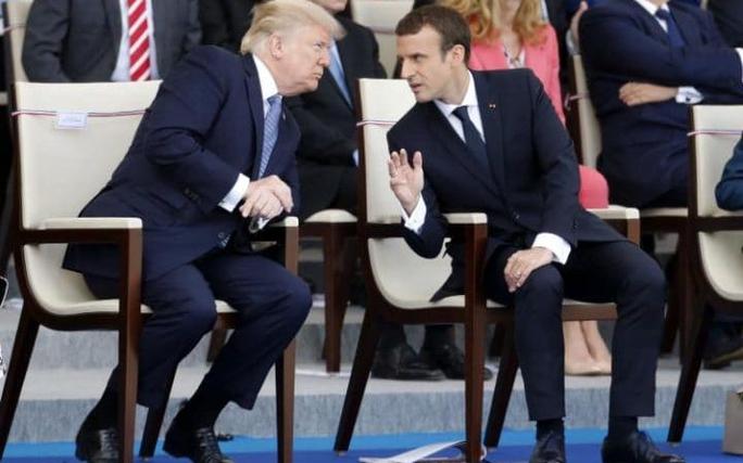 Ông Macron nói gì sau chuyến thăm của Tổng thống Donald Trump? - Ảnh 1.