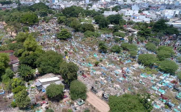 Gần 100 triệu đồng/m2 đất quanh nghĩa trang Bình Hưng Hòa - Ảnh 2.