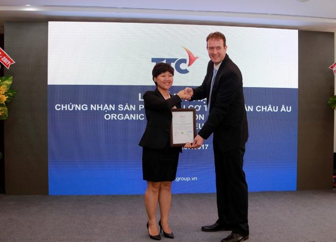 Mía đường Thành Thành Công đạt chứng nhận organic  - Ảnh 1.