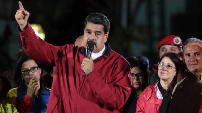 Bị Mỹ trừng phạt, Tổng thống Venezuela tuyên bố không sợ - Ảnh 1.