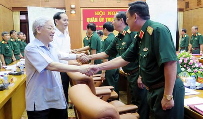 Tổng Bí thư Nguyễn Phú Trọng chủ trì hội nghị Quân ủy Trung ương - Ảnh 2.