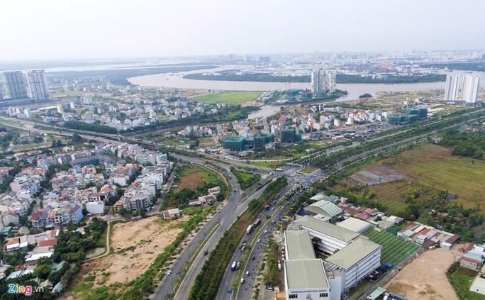 Xây cầu qua đảo Kim Cương, giá đất quận 2 bỏng tay - Ảnh 1.