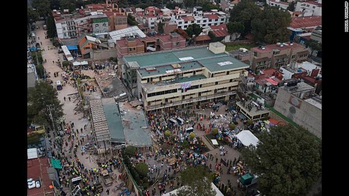 Hai trận động đất mới rung chuyển miền Nam Mexico - Ảnh 3.