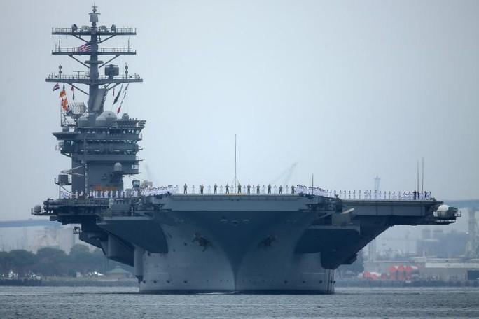 3 tàu sân bay Mỹ sắp phô trương sức mạnh ở Thái Bình Dương - Ảnh 1.