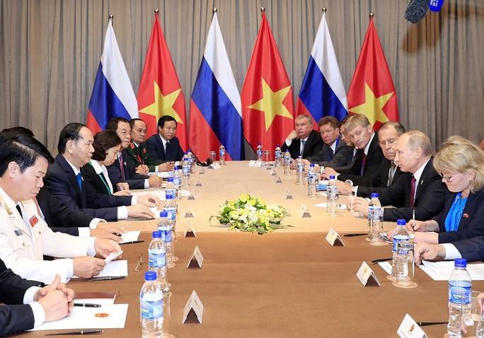 Chủ tịch nước và Tổng thống Putin ra Tuyên bố chung về an ninh thông tin - Ảnh 2.
