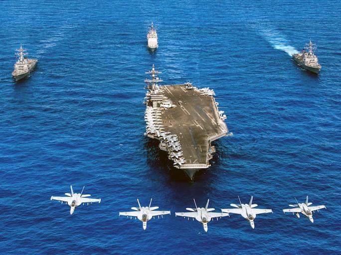 7 tàu sân bay Mỹ đồng loạt xuất hiện, Mỹ - Hàn tập trận hiếm thấy - Ảnh 4.