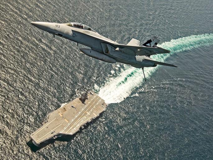 7 tàu sân bay Mỹ đồng loạt xuất hiện, Mỹ - Hàn tập trận hiếm thấy - Ảnh 7.