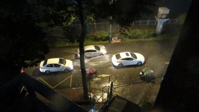 Bão số 14 gây mưa to gió lớn ở TP HCM - Ảnh 11.