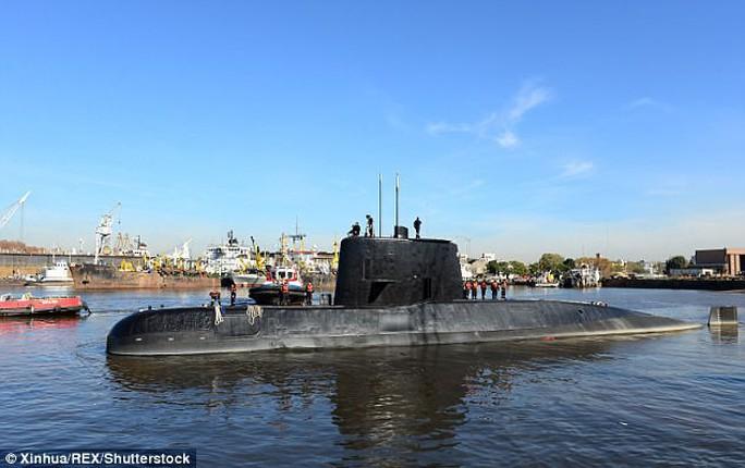 Tiết lộ mới từ Hải quân Argentina về tàu ngầm mất tích - Ảnh 1.