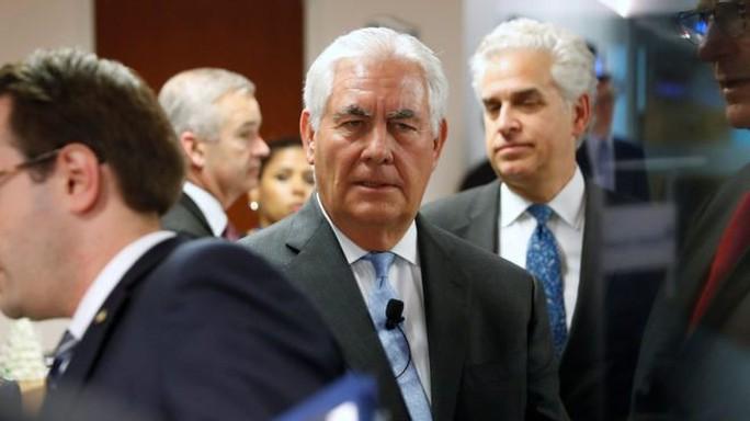Ngoại trưởng Mỹ bất ngờ muốn đàn phán với Triều Tiên vô điều kiện - Ảnh 1.