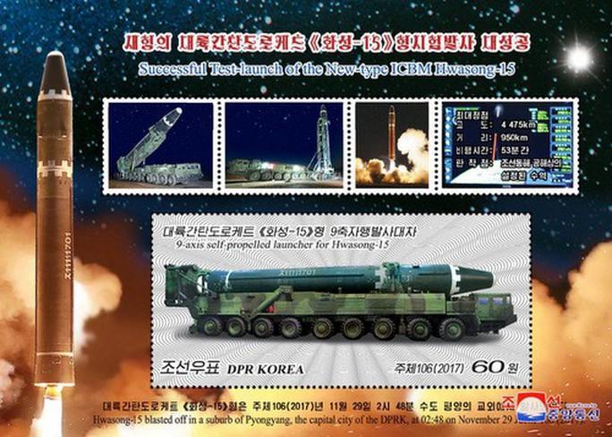 Mỹ tung máy bay Cobra Ball đón đầu tên lửa nguy hiểm nhất của Triều Tiên - Ảnh 1.