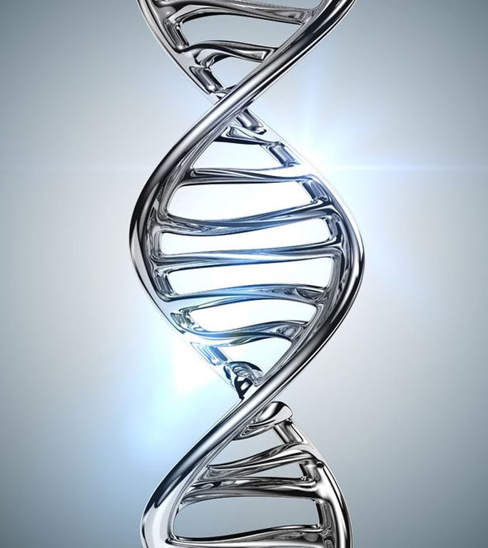 DNA của loài người ẩn chứa tín hiệu đặc biệt. Ảnh: Express