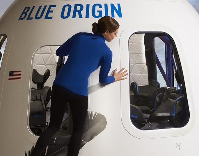 Blue Origin là công ty hàng không vũ trụ của Mỹ có trụ sở chính tại Kent, Washington. Ảnh: Blue Origin.