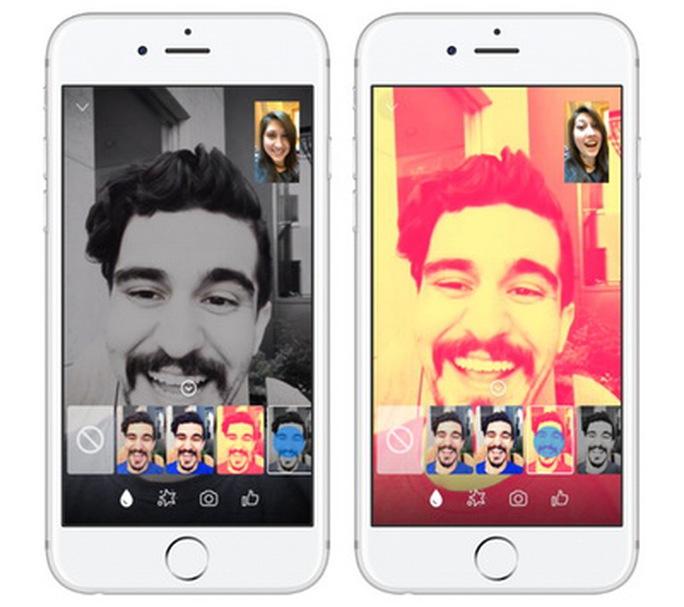 Facebook Messenger bổ sung thêm nhiều hiệu ứng vui nhộn cho Video Chat - Ảnh 3.