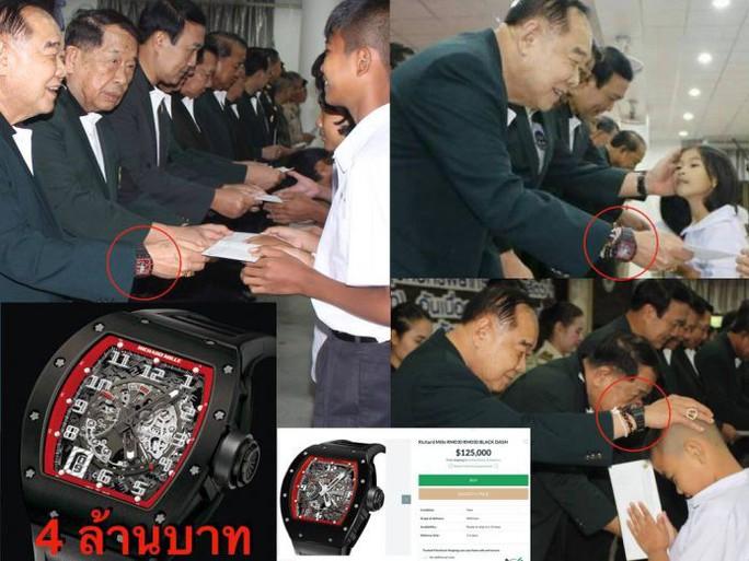 """Phó Thủ tướng Thái Lan mượn đồng hồ xài rồi """"quên"""" trả? - Ảnh 3."""