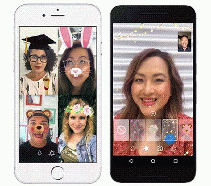 Facebook Messenger bổ sung thêm nhiều hiệu ứng vui nhộn cho Video Chat - Ảnh 4.