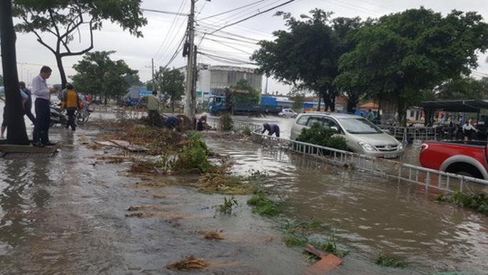 Mưa lớn, nhiều nơi ở Đồng Nai và Bà Rịa - Vũng Tàu ngập nặng - Ảnh 15.