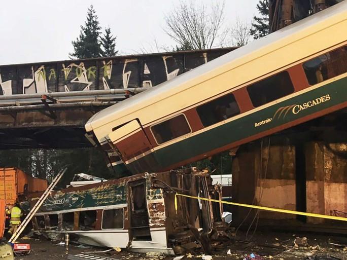 Hiện trường vụ tai nạn. Ảnh: Washington State Police